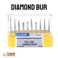 Dental Bur Diamond Polishing Komposit / composite polishing burs