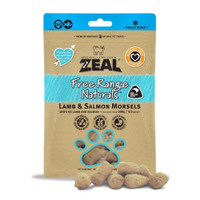 Zeal Lamb & Salmon Freeze Dried - Dog Snack Food Makanan Anjing Hewan