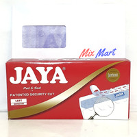 Amplop Jaya Jendela Kiri No 90 + perekat / Left Window Envelope
