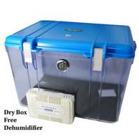 kotak kering wadah kamera dslr action cam anti jamur lembab-dry box