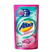 Attack Plus Softener detergent cair 800ml matic
