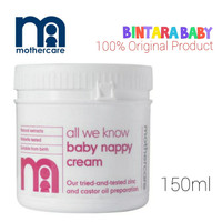 Mothercare All We Know Baby Nappy Cream 150ml