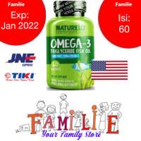 Naturelo - Premium Omega 3 Fish Oil Supplement - USA Origin
