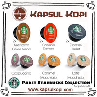 Paket Starbucks Collection Nescafe Dolce Gusto Kapsul Kopi Coffee