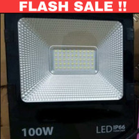 lampu sorot 100w 100 w led floodlight lampu tembak 100 watt outdoor