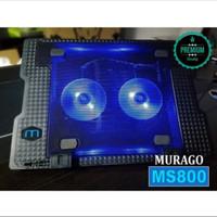 Notebook Cooling Pad Super Cool Stand Fan Pendingin Laptop Kipas Meja