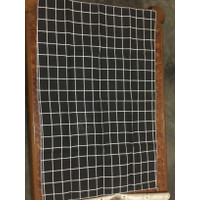 serbet napkin kain / alas foto kain motif kotak hitam