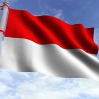 Bendera Merah Putih, Ukuran 90 x 60, Bahan Veles