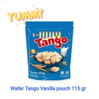 wafer tango pouch vanilla 115 gram