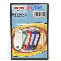 Key Ring / Gantungan Kunci Joyko KR 6 isi 6