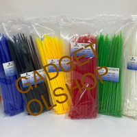 Kabel Ties Warna 20cm-Kabel Tis 3.6x200mm-Kabel Ties-Kabel Pengikat