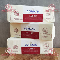 BUTTER BLOCK CORMAN PATISY UNSALTED 2.5 KG /BUTTER BLOK CORMAN PATISY