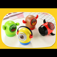 Speaker Musik Bluetooth wireless Portable karakter lucu Minion nassin