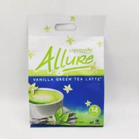 Esprecilo Allure green tea Latte dan Vanilla Late isi 2 sachet