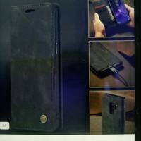 samsung galaxy A6 plus / J8 2018 Case Caseme Flip cover wallet leather