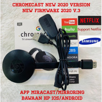 Google Chromecast 2 TV Streaming HD 1080P Wifi Wireless Display