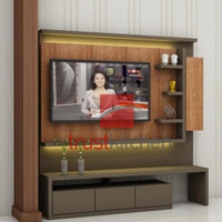 Backdrop TV / Meja TV