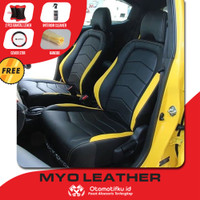Sarung Jok Mobil Ertiga Otomotifku Bahan Myo Leather Berkualitas Ori