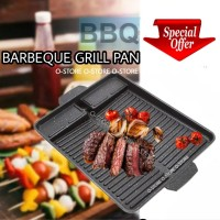 Barbeque Grill Pan Wajan Panggangan Daging Alat Panggang BBQ Yakiniku