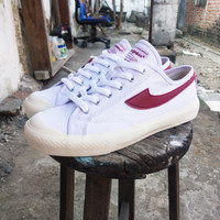 COMPASS GAZELLE LOW WHITE RED WHATEVERSTORE