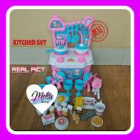 Mainan Anak Kid Toys Alat Masak Masakan Kuda Pony Kitchen Set Kompor
