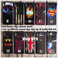 Softcase man case superheroes Vivo V19