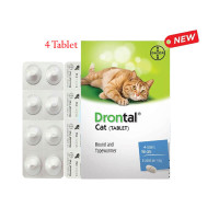 Drontal Cat Tablet for Cat Obat Cacing Kucing Tablet