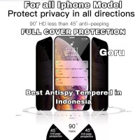 Tempered glass Anti spy HD iphone X Xr Xs 11 11PRO Pro Max FULL cover