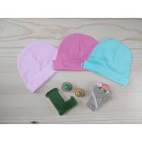 Topi bayi perempuan little Queen isi 3 topi