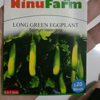 benih terong hijau Ninufarm