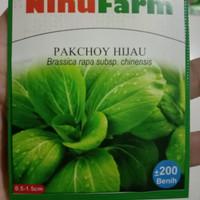 benih pakcoy sawi daging Ninufarm