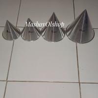 Cetakan Loyang Kue Tumpeng Mini Nasi Kuning 1 Set 8 10 12 14 cm
