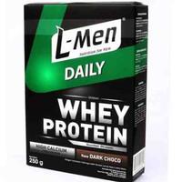 Lmen daily whey l men susu protein bubuk 250 gr dark choco
