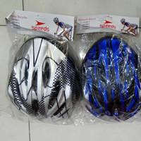 Helm Sepeda Universal MTB BMX Speeds Original BONUS BUBBLE WRAP - Biru