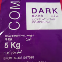 Dark cokelat colatta 5kg/ Dark Coklat Batangan Compound Colatta 5 kg