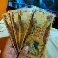 Uang Kuno 5000 Rupiah Penjala 1975
