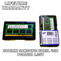 SAMSUNG SODIMM DDR3 4GB PC10600