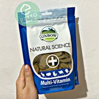 Multi vitamin oxbow chincilla kelinci hamster kura-kura torto marmut