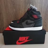 Sepatu Air Jordan 1 Retro High Og Black Satin BNIB