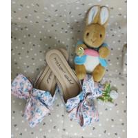 Ittaherl x peter rabbit spring slipper round peach size 37