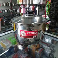 Panci Sauce Pot D24cm Zebra Cesar, SUS 304, Thailand Made
