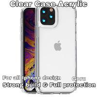 Soft Hard Case Casing iphone X Xr Xs 11 Pro Max 6 6s 7 8+ plus Acrylic