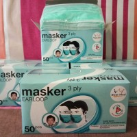 Masker bestmed earloop 3ply