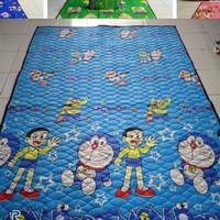 karpet lantai karakter quilting jumbo Doraemon