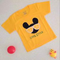 Kaos bayi/anak motif bordir 1-4 tahun