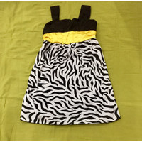 Dress anak Zebra print