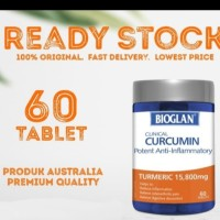 bioglan clinical curcumin 60ttablet (turmeric 15.800mg)