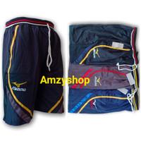 Training Mizuno Pendek Jumbo XL-XXL | Celana Olahraga Gym Pria Wanita
