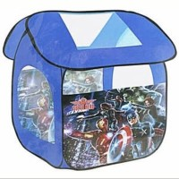 Tenda Mainan Anak Poptent Avenger Super Heroes Captain America IronMan