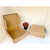 Kotak Kardus murah Gift Box Kotak Kue Tart Cake Roti uk 20x20x7.5 cm